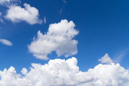 Clouds and sky background Stock Photo