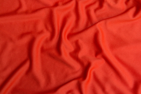Red cloth texture and background Stock Photo