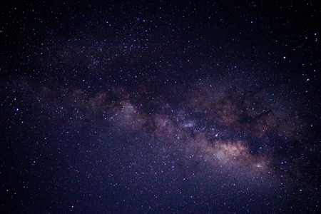 Milky way galaxy or Night sky with stars Stock Photo