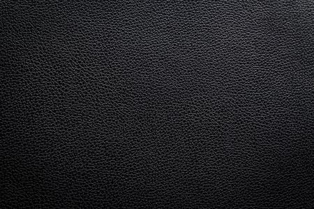 Black leather texture background Stock Photo