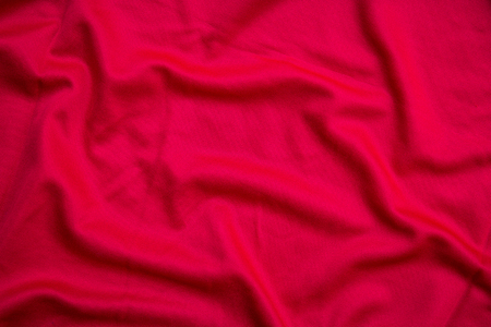 Red cloth texture and background