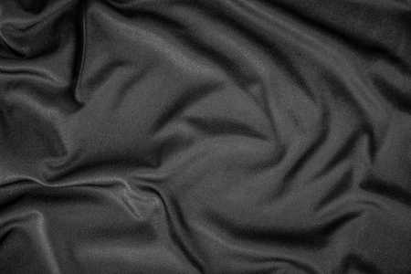 Black cloth texture and background