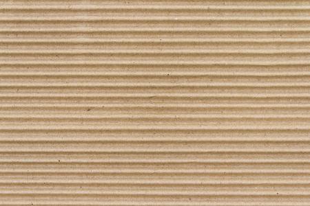 Boîte de papier brun ou texture de feuille de carton ondulé Banque d'images