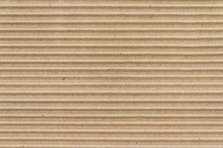 Brown paper box or Corrugated cardboard sheet texture 스톡 콘텐츠 - 110690865