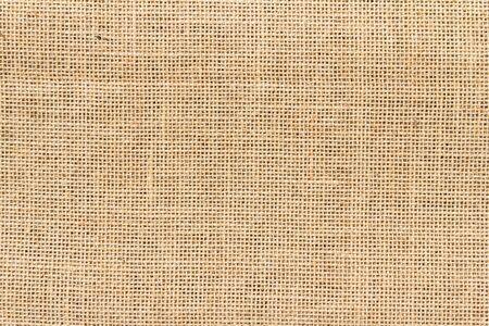 Burlap sack background and texture Banco de Imagens