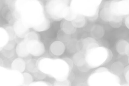 Abstract black and white bokeh background
