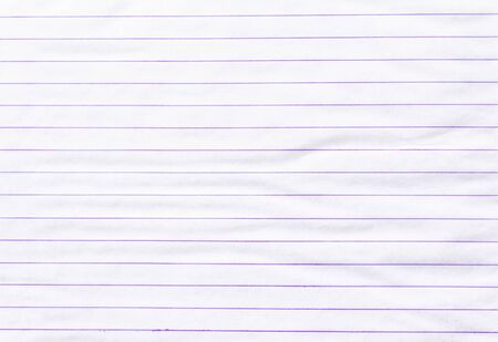 Notebook  white line Paper Background Фото со стока