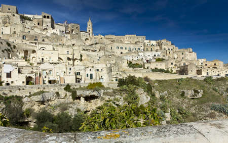 sassi: Sassi houses of Matera  Basilicata, Italy Stock Photo