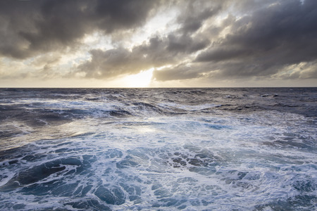 Stormy seas in the Southern ocean