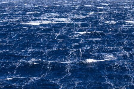 gust: Sea surface during 11-beaufort winds in southern ocean