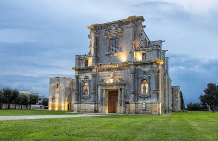 Convento degli Agostiniani of Melpignano where Notte Della Taranta music festival takes place each year