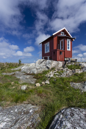 Hill top cottage at Vrango of Bohuslan Coast, Sweden