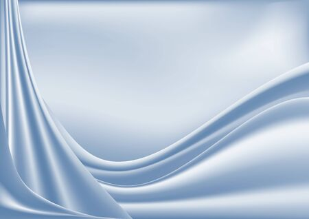 Abstract background. Light draperies and pleats on a light background. Illustration