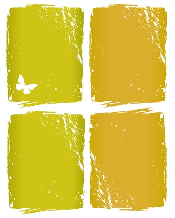 rifts: Grunge window background Illustration