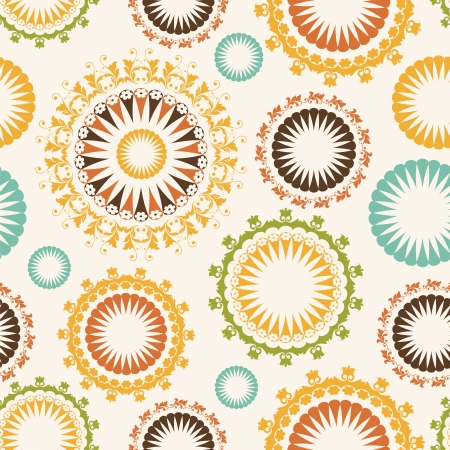 Floral seamless pattern Stock Vector - 16904855