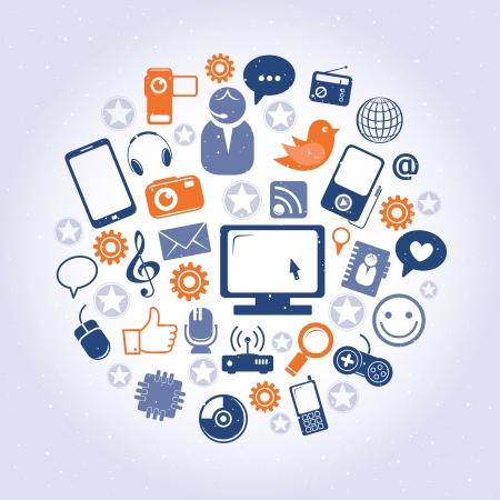 interaccion social: Patr�n de red social