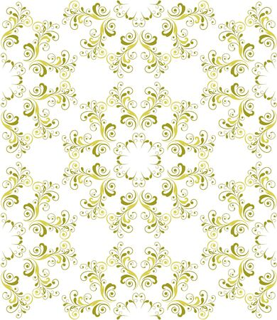 Seamless floral pattern Stock Vector - 19577051