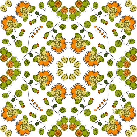 Summer seamless pattern Stock Vector - 19752704