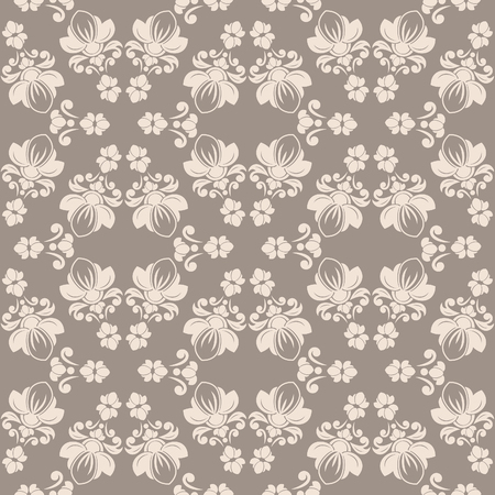 Abstract seamless pattern  can be repeated or tiled without any visible seams Vector
