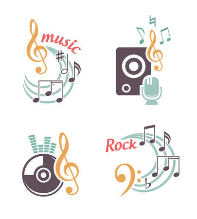 Music vector elements Stock Vector - 23208447