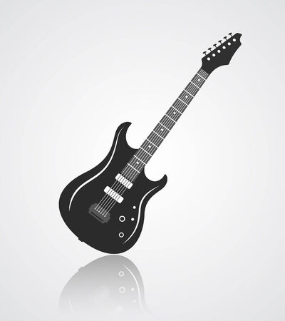 bass guitar: Electric guitar icon