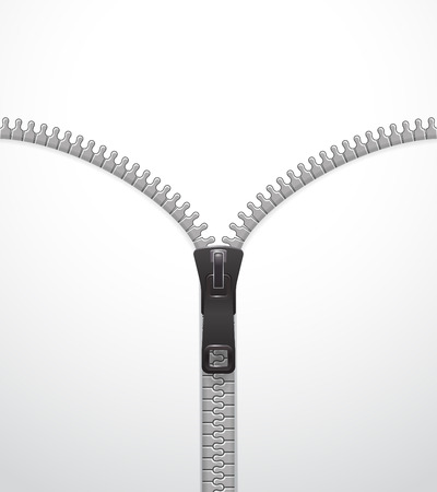 ジッパー ベクトル テンプレート  イラスト・ベクター素材