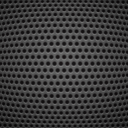 Technology background with carbon texture Vector