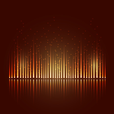 Abstract equalizer Illustration