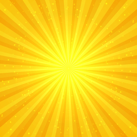 starburst: Sunny abstract background