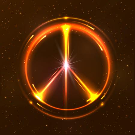 pacific: Shining pacific symbol