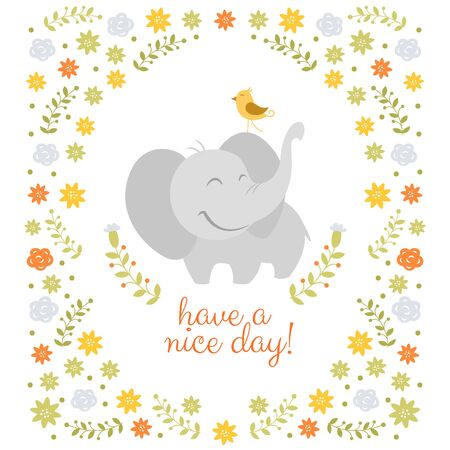 nice day: Have a nice day vector illustration