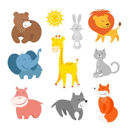 jirafa caricatura: Animales de la historieta zool�gico