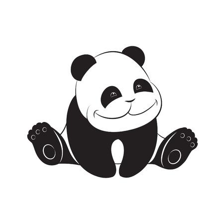 endangered species: Cute baby panda