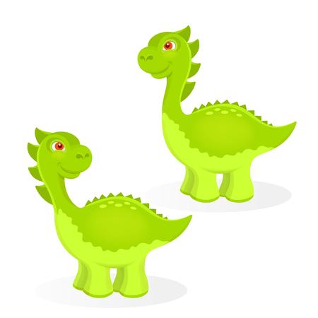 carboniferous: Cartoon dinosaur characters