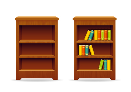 bookcase: Library bookcase education and knowledge