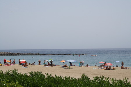 vistas: Playa Las Vistas Stock Photo
