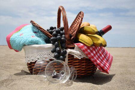 las vistas: Picnic basket at Playa las Vistas