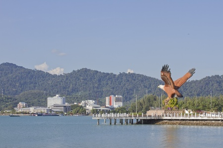the symbol of Langkawi island, Malaysia photo