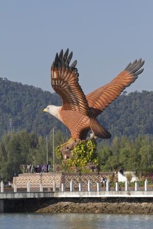 langkawi island: Eagle Statue, Symbol of Langkawi Island, Malaysia