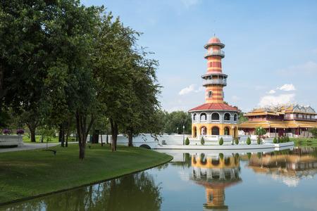 bang pa in: HO Withun Thasana at Bang Pa-In Palace, Ayutthaya, Thailand
