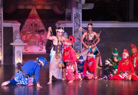 YOGYAKARTA: YOGYAKARTA INDONESIA-MARCH 24:Ramayana ballet performs at Purawisata on March 24, 2015 in Yogyakarta Indonesia