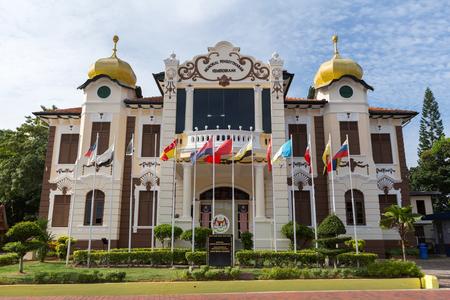 malaya: MALACCA MALAYSIA-JUNE 23:Proclamation Of Independence Memorial on June 23, 2016 at Malacca Malaysia
