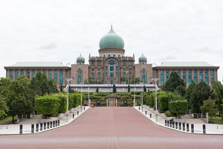 PUTRAJAYA MALAYSIA-JUNE 25:Perdana Putra is a building which houses the office complex of the Prime Minister of Malaysia on June 25, 2016 at Putrajaya Malaysia Redakční