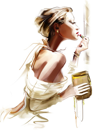 Mode femme Banque d'images - 25333938