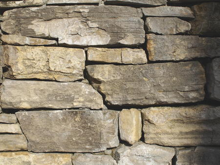 raspy: Stacked stone wall detail