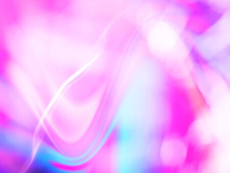 Abstract pink neon color fluid blur natural background with bokeh.