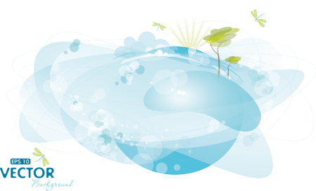 Nature background Illustration