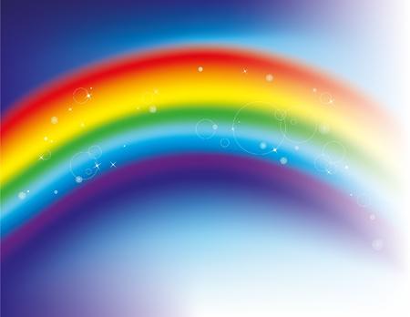 Regenbogen Hintergrund Illustration