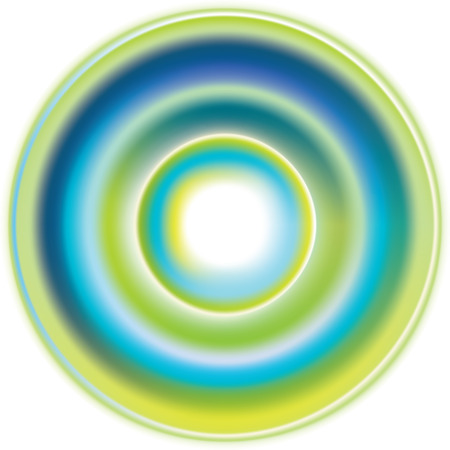 aureole: Spring sunlight design, vector illustration, contain gradient mesh, eps-10 Illustration