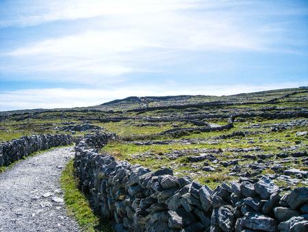 アイルランドの風景 写真素材